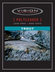 Polyleaders Trout Fast Sink della Vision