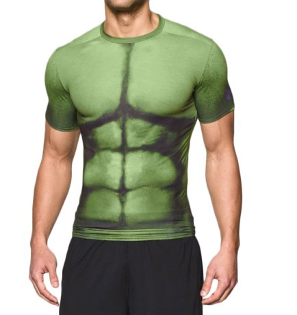 the latest unique style unequal in performance T-shirt mens Alter Ego Hulk Compression