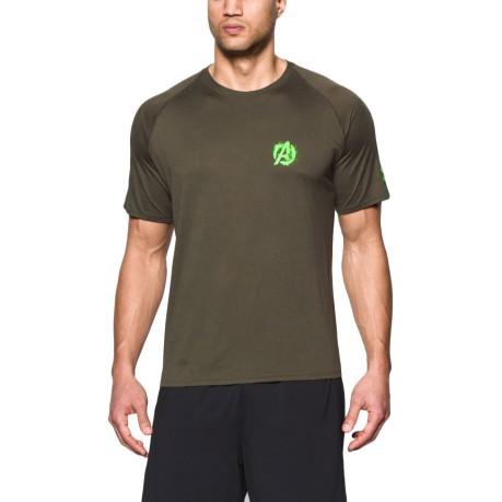 cortar Ruidoso Anillo duro  T-Shirt Alter Ego Avangers 2 Hulk colore Green - Under Armour - SportIT.com