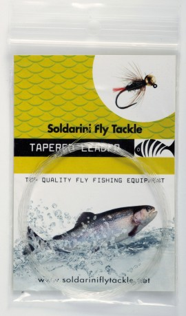 Soldarini Camou Leader Tapered 30 ft