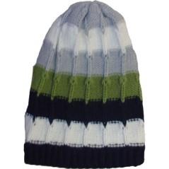 Berretto di lana lungo a righe Marini Silvano