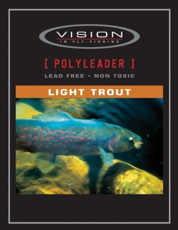 Polyleaders Light Trout Fast Sink della Vision