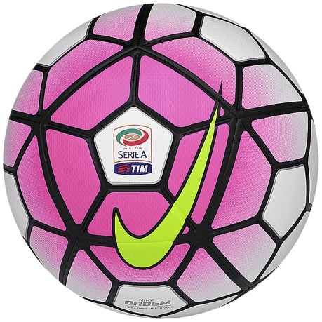 e1a26e6970479 Ball Football Nike Ordem 3 Series colore White Pink - Nike - SportIT.com
