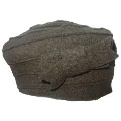Basco in lana cotta con fiocco Marini Silvano