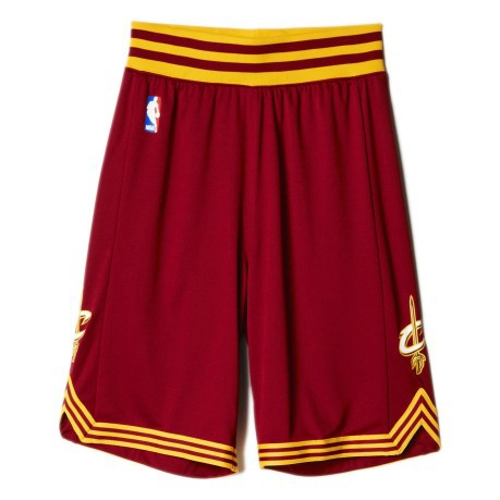 7cd181c94 Kit Away The Cleveland Cavaliers Junior colore Red Yellow - Adidas ...