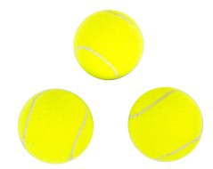 Set 3 palline da tennis Bodyline
