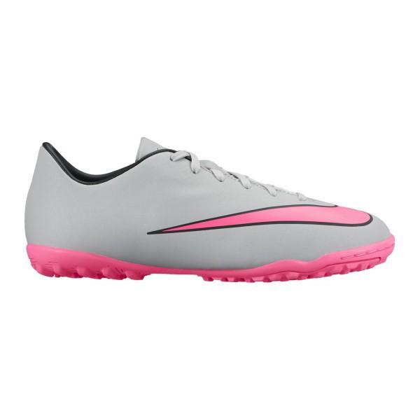 ad427ecdd ... france scarpe calcetto nike mercurial victory v tf jr colore grigio rosa  nike sportit c171f b708d