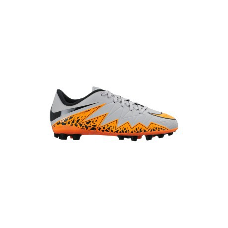 Scarpe Calcio Bambino Nike Hypervenom Phelon II AG colore Grigio ... bfce5403168