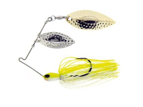 FS Spinnerbait Double Willow White Chart