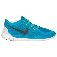 Scarpe Donna Free 5.0 Nike azzurro