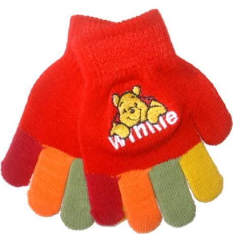 66f159635e09 Gloves Winnie The Pooh colore Red Fantasy - Marini Silvano - SportIT.com