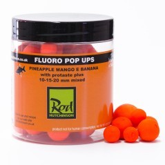 Boilies Fluoro Pop-Up Pineapple Mango e Banana