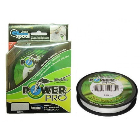 Power Pro White 135 m 0,19 mm