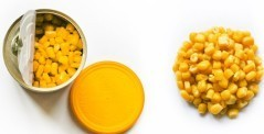 Mais aromatizzato aglio