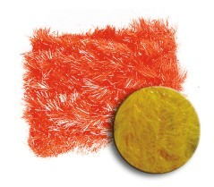 Soldarini Original Rutland Blob Chenille Sunburst Orange