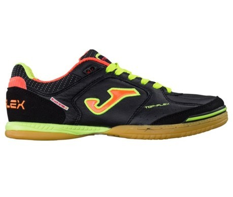 cbdece33a Shoes Indoor Football Joma Top Flex 401 colore Black Orange - Joma ...