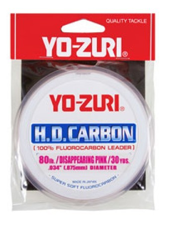 Fluorocarbon HD Disappearing Pink 60 lb