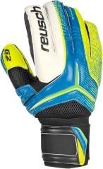 Guanti Calcio Receptor Prime G2 Ortho Tec Reusch azzurro giallo