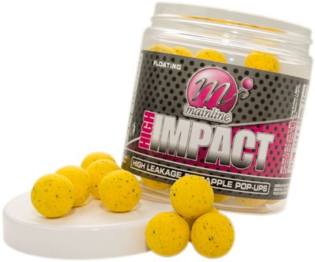 Boilies High Impact Pop Ups High Leakage Pineapple 15 mm