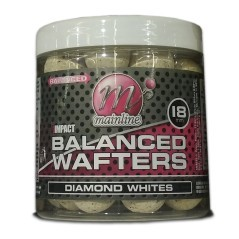 Boilies Hi Impact Balanced Wafters Diamond Whites 18 mm