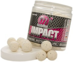 Boilies High Impact Pop Ups Diamond White 15 mm