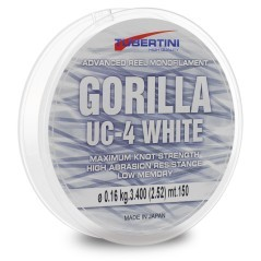 Filo Gorilla UC-4 150 m 0,300 mm Bianco