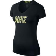 Maglia Donna Nike Pro Logo SS Tank-Fil