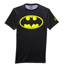 T-shirt uomo Batman 2.0 Compression SS BLK