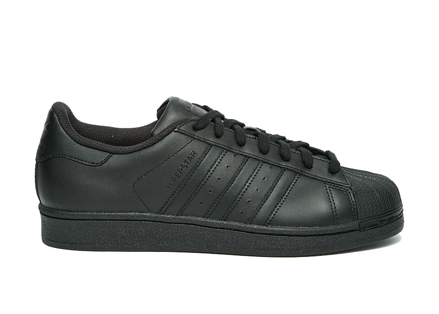 Scarpe Superstar Stan Smith colore Nero Nero - Adidas Originals - SportIT.com