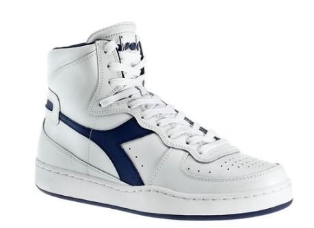 Scarpe Uomo MI Basket colore White Blue - Diadora - SportIT.com 499cdc4663c