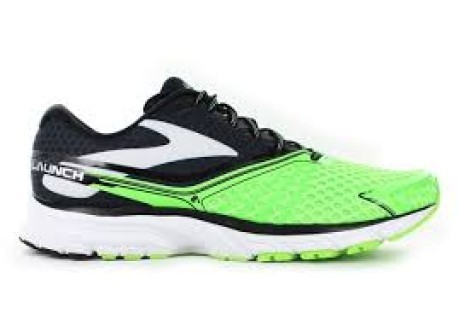 Mens Running Shoes Launch A2 colore Green Black - Brooks - SportIT.com ca2d1b0a6bf