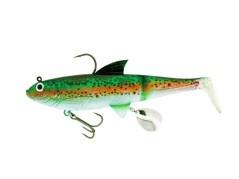 "Pike Shad 7,5"" Red Yellow Tiger"