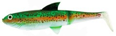 "Corpo Pike Shad 7,5"" Red Yellow tiger"