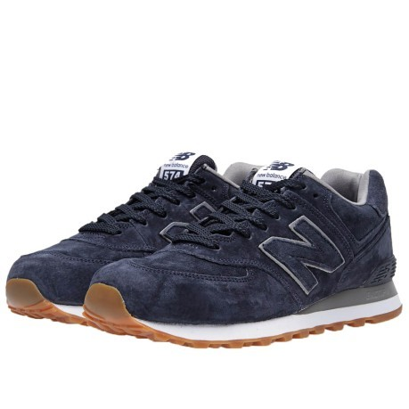 new balance 574 blue nubuck