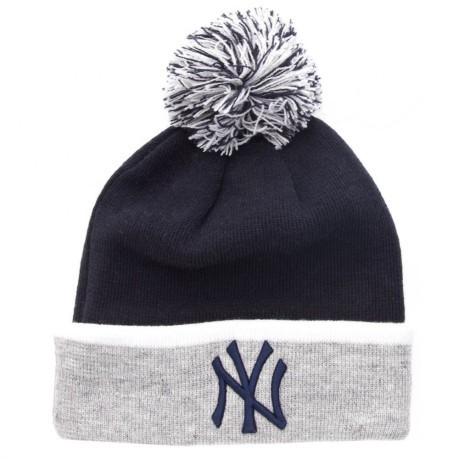 Beanie hat MLB Team NY Yankees colore Blue Grey - New Era - SportIT.com 298c64cae57