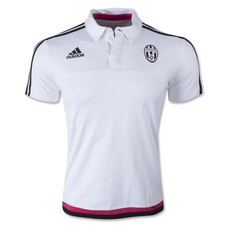 916895657 Juventus Men s Polo shirt 2015 16 colore White - Adidas - SportIT.com