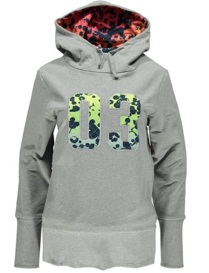 Felpa Donna LPW Pop Hoody colore Grey - Adidas - SportIT.com a0e13e520bb1
