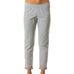 Pants Woman Stretch Hems