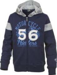 sweat-shirt enfant Plein zip avec capuche