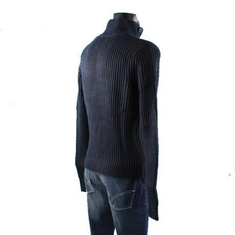 Sails Uomo Wool 3 Cotton Colore Olivier Blu Bottoni North Maglione awS7xOqS