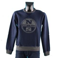 North Sails. Felpa Uomo Crew Neck Embrodery dda786bfdda