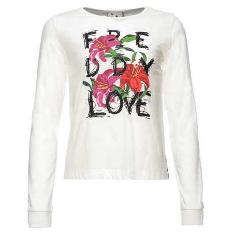 FREDDY T-Shirt Manica Lunga in Love with
