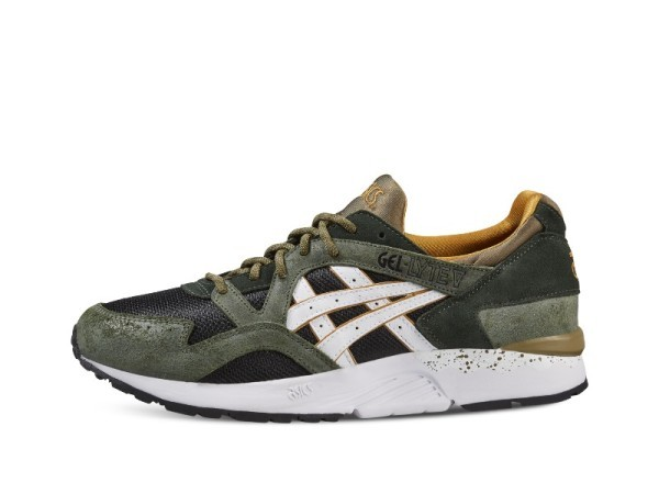 Mens shoes Gel Lyte V (Winter Trail Pack) colore Green White