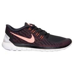 Scarpe uomo Nike Free 5.0 nero e arancio