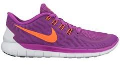 Scarpe donna Nike Free 5.0 rosa e arancio