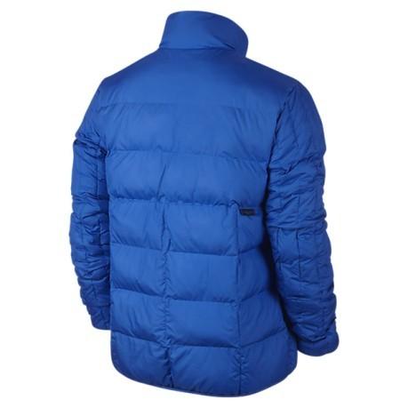 nike azzurro giacca sportiva