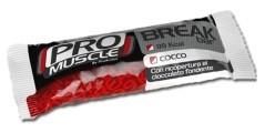 Pro Muscle Break Bar con copertura al cioccolato