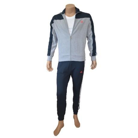 Tuta Uomo Lpm Pop CB TS Full Zip colore Grigio Blu - Adidas ... 14a0527df3d4