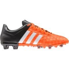 Scarpe Calcio Ace 15.2 FG/AG Adidas rosso nero