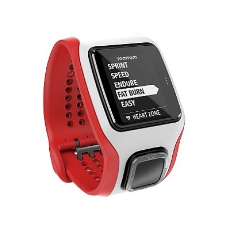 TomTom Runner Cardio Gps rosso-bianco